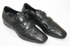 PRADA men shoes sz 6 Europe 39 black leather S7780