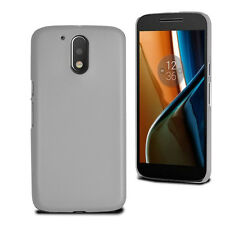 For Motorola Moto G4 Thin Slim Armour Hard Case Clip On Back Cover & Screen