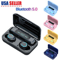Wireless Earphones Bluetooth 5.0 Earbuds Headphones Headset Noise Cancelling Mic