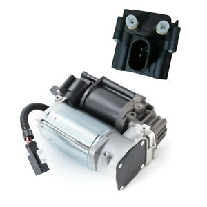 Air Compressor Pump + Valve Block New For BMW X5 F15/F85 2014 2015 2016-2018