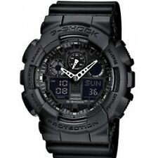 Casio G-shock Ga-100-1a1er Mens Combi Watch GSHOCK GA1001A1ER