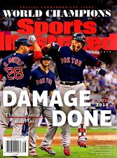 Sports Illustrated Magazine Commemorative 2018 Champions Cover 2 BOSTON RED SOX