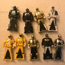 Power Rangers Key Super Megaforce Silver Black Yellow figure Lot