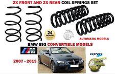 Per BMW 320I M Sport E93 Cabrio 2007-2013 2X 2X Anteriore Posteriore Molle a Spirale Set