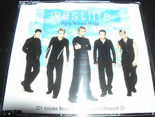 Westlife Flying Without Wings Australian Enhanced CD 1 CD Single – Like New