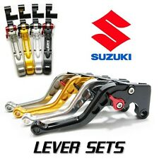 JPR Roll n Click Shorty Brake and  Clutch Levers for Suzuki GSXR 600 2011 - 2016