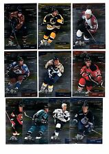 1X 1999-00 UD MVP CUP CONTENDERS COMPLETE Insert SET 1-10 Bulk Lot Available