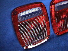 1 Pair Rear Tail Light Lenses 78 79 80 90 91 92 93 94 97 00 Jeep GMC Chevy Truck