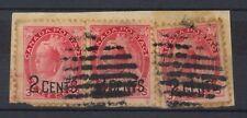 Le Canada 1899 SG # 172 x 3 sur pièce Reine Victoria