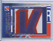 Jeff Skinner 2013 In The Game Draft Prospects Nameplates Lettermen Card 1/1