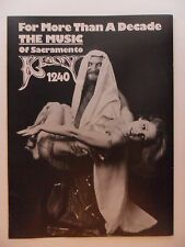 1975 Print Ad KROY 1240 Radio Station Music of Sacramento ~ Arab Shiek