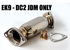 M2 HONDA CIVIC DE CAT PIPE EK9 DC2 JDM RESONATOR 63MM LARGE COLLECTOR Z0191