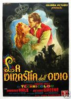 Lorna Doone Barbara Hale vintage movie poster