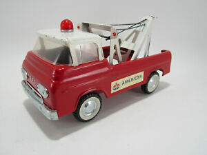 Vintage 1960's Nylint Toys Econoline American Emergency Tow Truck - Very Nice!