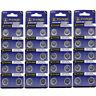 50PCS AG13 LR44 SR44 LR1154 357A A76 357 SR44SW Alkalisch Uhrenbatterie