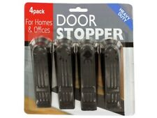 Doorstoppers for Home or Offices Value Pack - Sturdy Plastic - Pack of 4