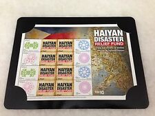 (JC) Haiyan Disaster Relief Fund - Full Sheet Mint Stamp
