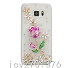 Rhinestone Lady's Diamond Bling Jewelled Crystal GEL Soft Phone Case Cover X14