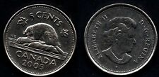 CANADA   5 CENTS 2005  PR NEUF / A. UNC