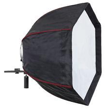 LIFE OF PHOTO Para-Softbox Octagon Softbox 60 cm für System-Blitz Kamera Dslr