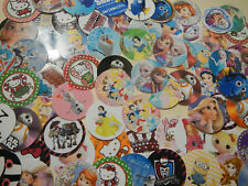 "147  Huge Characters 1"" inch  Precut Bottle-Cap Images Bows Scrapbooking Mix Lot"
