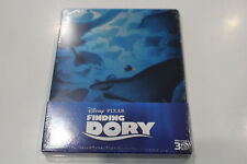 New - Finding Dory - Steelbook Bluray 3D + 2D - Region ABC