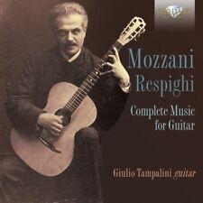 COMPLETE MUSIC FOR GUITAR - RESPIGHI,OTTORINO/MOZZANI,LUIGI/+    CD NEW+