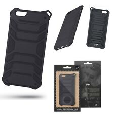 ^ Outdoor Beeyo Armor Panzer Protector Schale Apple iPhone 6 Plus SCHWARZ