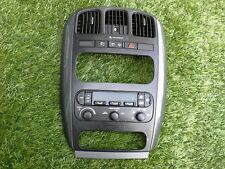 2001-2007 CHRYSLER TOWN&COUNTRY CARAVAN DASH RADIO TRIM BEZEL W/HEAT CONTROL OEM