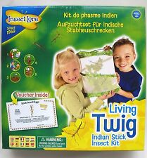 INSECT LORE - LIVING TWIG INDIAN STICK INSECT KIT – NEW & SEALED!
