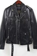 Dsquared2 Moto Leather Jacket Size 50-40  MSRP $2,895