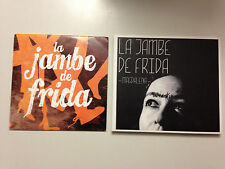 LOT CD SINGLE - ALBUM LA JAMBE DE FRIDA