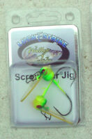 2 Scrounger Jigs WSPH38-01-2  Luck E Strike Walleye Fever 3/8 Oz  1 Pack of 2