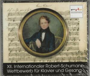 Robert Schumann | 2 CDs | XII. Internationaler Robert Schumann Wettbewerb | NEU!
