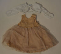 Tolles festliches Baby Kleid mit Bolero von Vertbaudet Größe 67