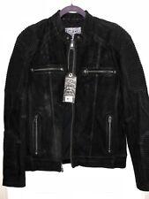 Affliction Fury Road Skeleton Rider Motorcycle Mens Leather Jacket Black LE $595