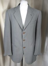 Giorgio Armani Le Collezioni Green Textured Wool Blend Jacket 42R Made in Italy