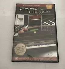 Exploring the CLP-200 Series DVD Yamaha Clavinova Watch & Learn Series Brand New