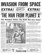 Man From Planet X Poster 05 Metal Sign A4 12x8 Aluminium