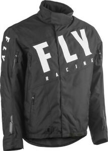 Fly Racing 2020 Snow Adult SNX Pro Snowmobile Jacket Black All Sizes