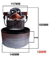 MOTORE BISTADIO ASPIRAPOLVERE PROFESSIONALE 1200W 230V BIDONI AUTOLAVAGGI 11ME05