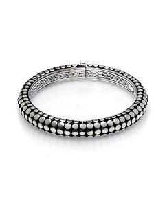 John Hardy Sterling Silver Dot Bracelet BB33962XM MSRP $795