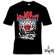MOB MENTALITY - SKINHEAD (T-SHIRT) NEU S-3XL Oi Skinhead Streetpunk Punk Oi!