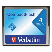 4GB CompactFlash Memory Card Class 4