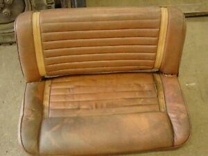 Nutmeg Laredo Jeep CJ back rear seat solid CJ5 CJ7 For parts