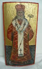 russisch-/griechisch-orthodoxe Ikone, um 1800 oder älter, Heiliger Metropolit