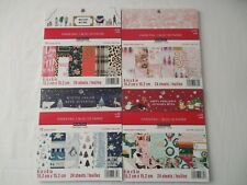 """Lot of 4 CRAFTSMART Paper Pads 6""""x6"""" 24 Sheets New"""