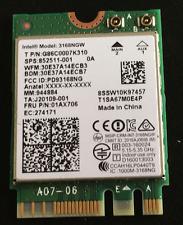 Intel AC 3168NGW Dual Band Wireless wifi Bluetooth 4.2 M2 HP sps 852511-001 Card