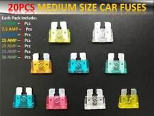 Nissan Medium Autos Auto Blade Sicherungen 5 7.5 10 15 20 25 30AMP Satz von 20