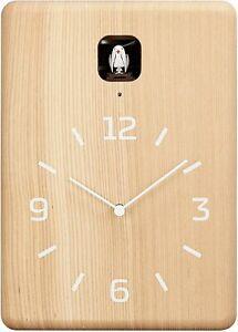 Lemnos CUCU Cuckoo Wall Clock Natural LC10-16 NT Japan